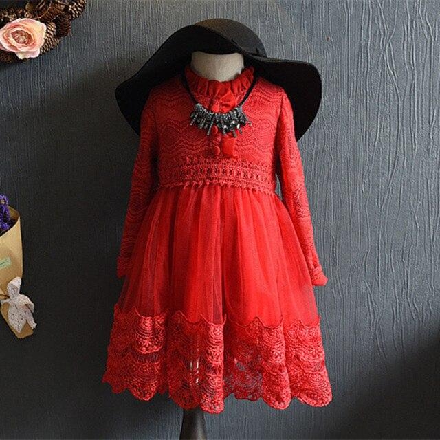 840a3cdf6 Alta Calidad Del Estilo de Inglaterra Del Niño Ropa Para Niños Niñas  Vestido de la Princesa Encantadora Del Bebé Niños Vestidos De Fiesta de ...