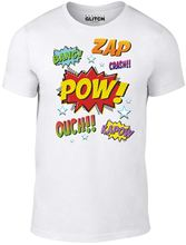 Mens Comic Style T-shirt  New T Shirts Funny Tops Tee Unisex