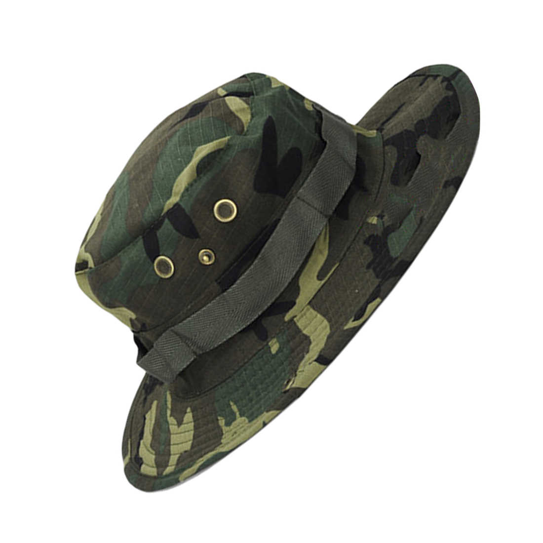 e8c670d14e0 ... UPF 50+ Bucket Hat Men Women Boonie Hat Summer UV Protection Hiking  Tactical Outdoor Sun ...