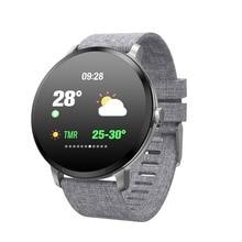 696 V11 Smart Uhr Blutdruck Vibration Wetter Prognose Smartwatch Männer Frauen Aktivität Fitness Armband für Android IOS