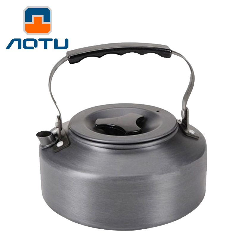1.1L Outdoor Camping Kettle aluminum alloy For Tourism Coffee Portable Ultralight Tableware Travel Tableware Picnic Water Pot1.1L Outdoor Camping Kettle aluminum alloy For Tourism Coffee Portable Ultralight Tableware Travel Tableware Picnic Water Pot