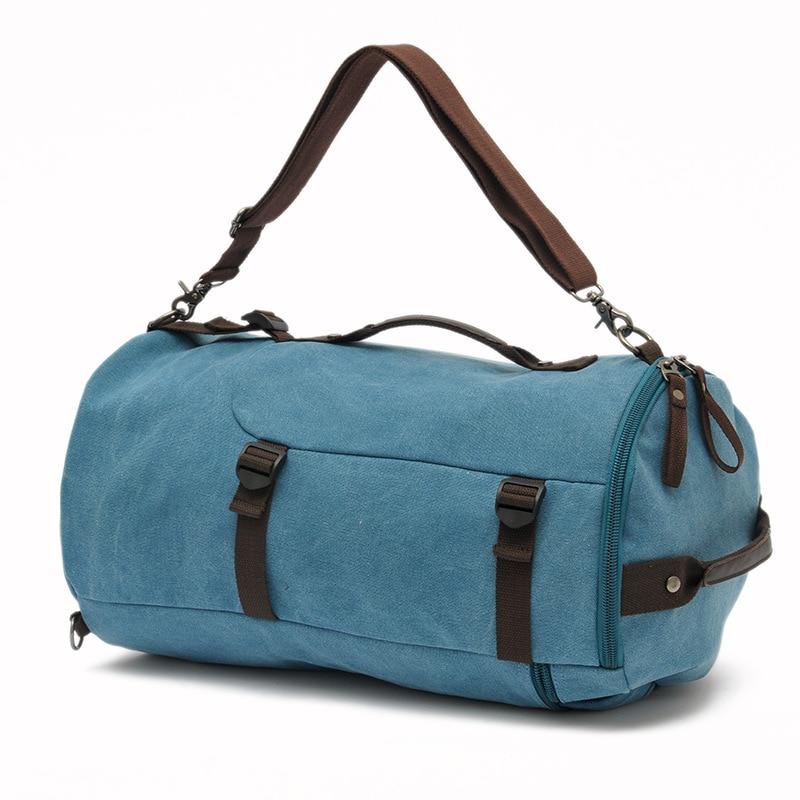 Grande capacité multifonction unisexe sac de voyage alpinisme sac à dos hommes sacs toile seau sac à bandoulière sac de voyage pour hommes - 4
