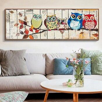 New Full,Diamond Embroidery Animal,owl diamond big long painting,cross stitch embroidery,diamond embroidery,Christmas,Gift D1327 фото