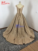 100% Real made bling bling gowns for evening party elegant puffy glitter shinny mothers of bride dresses mother evening dress