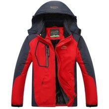 Revestimento Interno de Lã de Inverno dos homens Homens Sportswear Outwear  Quente Marca Casacos Jaquetas Parkas e5b7e875ce757