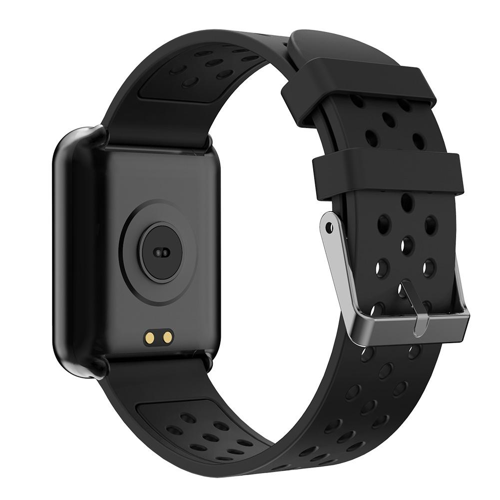 Image 5 - Half Reflective Half Transparent Waterproof Color Screen Step Heart Rate Information Reminder ECG Blood Pressure Smart Bracelet-in Smart Wristbands from Consumer Electronics