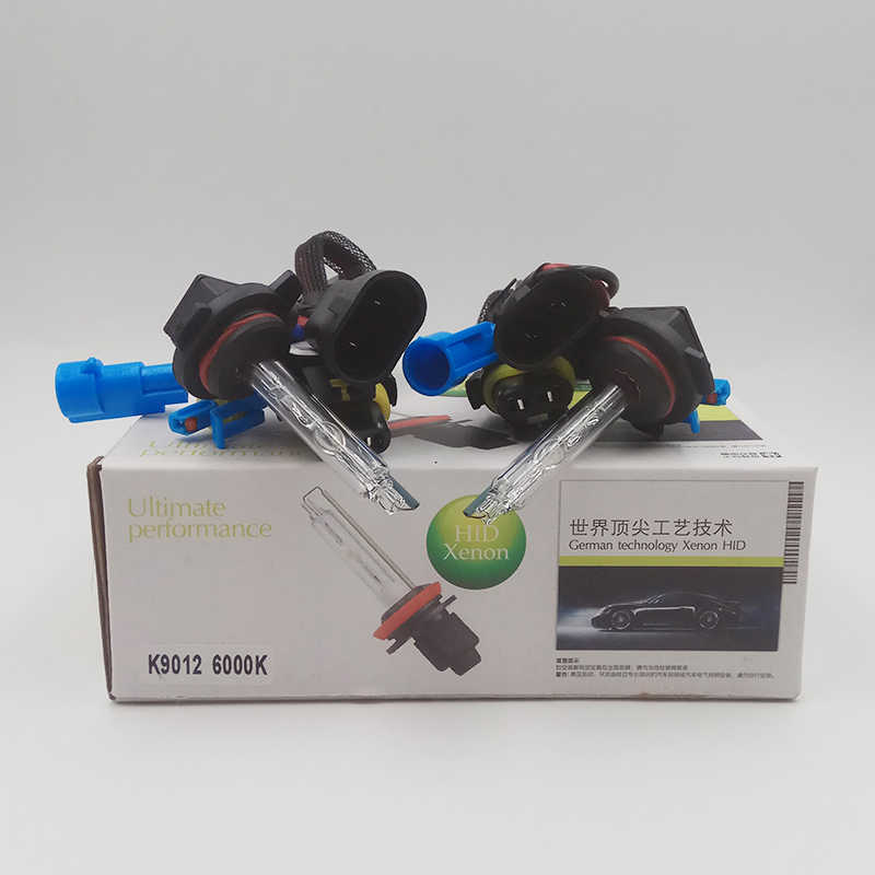 Car Flashing Hid xenon bulb 9012 Hir2 auto headlight xenon 35W 55W 12V headlight kits car styling 3000k 4300k 6000k 8000k