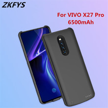Portable Phone Charging Case For VIVO X27 Pro High Quality Power Bank Battery Cover 6500mAh Ultra Thin Fast Charger