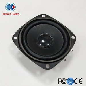 2 pcs of high quality 3inch 8ohm 5W speaker for DIY arcade game kit arcade machine parts game machine accessory