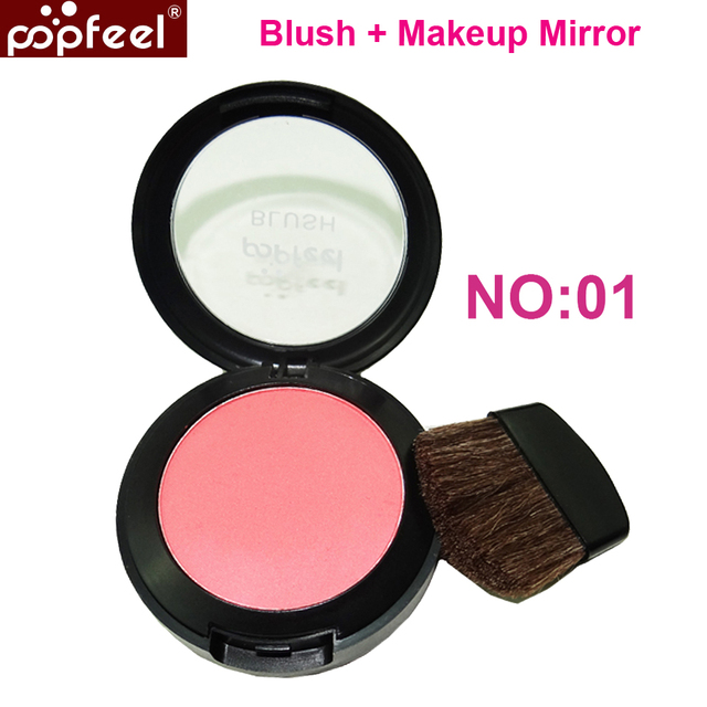 Brand  Kimisky Blush Modified  Face Blush 1pcs Blushes Makeup Blusher Beauty product Make up blush  6g Red Color with box pack