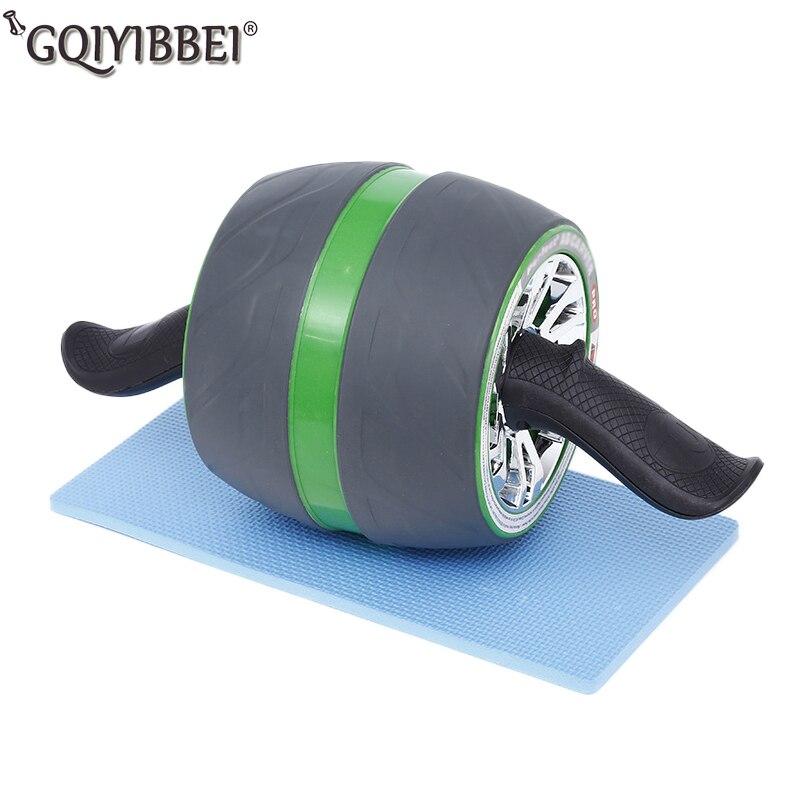 Rebond automatique Fitness Ab Roller pas de bruit roues d'entraînement abdominales avec tapis pour équipement de gymnastique à domicile machine d'exercice