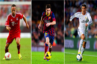 Cristiano Ronaldo Poster Messi Posters Ribery Ronaldo Wall Stickers CR7 Wallpaper Football Soccer World Cup Canvas