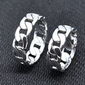 Belong Together 925 Sterling Silver Rings For Couple Punk Rock Style Wedding Bands For Couples Ring Jewellery Lovers Gifts