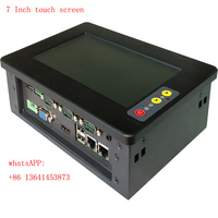 7 inch high resolution industrial panel pc with touch screen for POS Terminals