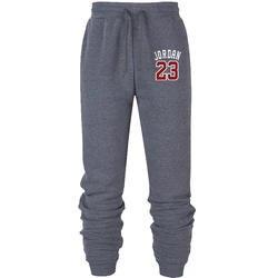 Для мужчин брюки для девочек новая мода Jordan 23 джоггеры повседневные мужские Штаны тренировочные брюки бодибилдера фитнес трек Мужчин's