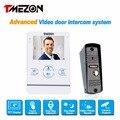 Tmezon 4 inch Color Monitor 1200TVL Camera Video Door Phone Intercom Security Speaker System Waterproof IR Night Vision 1v1