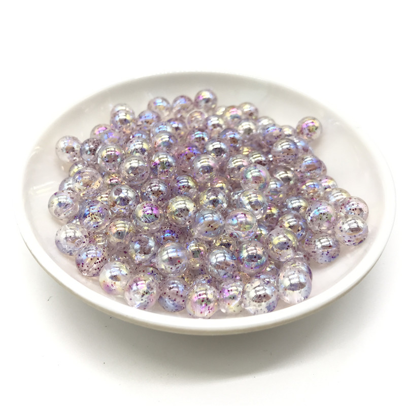 40pcs MAUVE FACETED OVAL 10mm acrylic beads craft embellishments wholesale