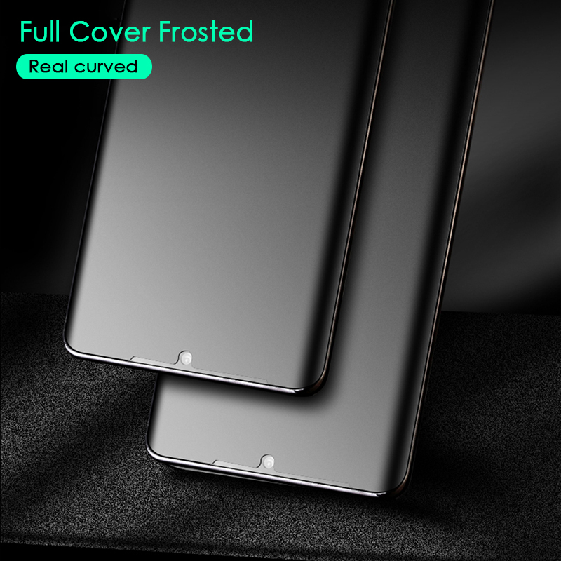 CHYI-Matte-Film-For-Huawei-P30-Pro-3D-Curved-Screen-Protector-No-Fingerprint-Frosted-Hydrogel-Film (3)