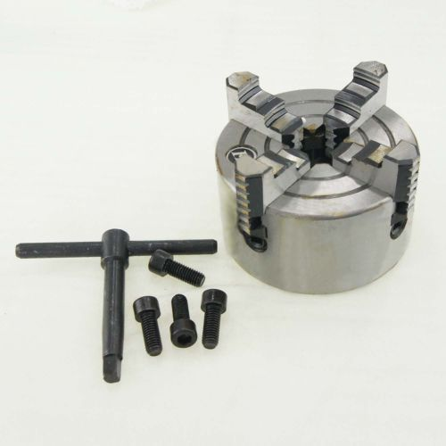 Independent Lathe Chuck 4 Jaw CNC Milling Drilling Tool K72-100mm 4 jaw independent lathe chuck k72 160mm page 10