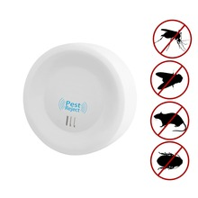 Ultrasonic Pest Repeller, Electronic Pest Repellent Indoor Plug in,Good Defender Pest Control for Insects Mosquitoes Mice Spider цена и фото