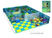 На заказ детская мягкая Детские площадки CE сертифицированный игровая площадка крытая сразу фабрика Plaza де Juegos hz 5516b