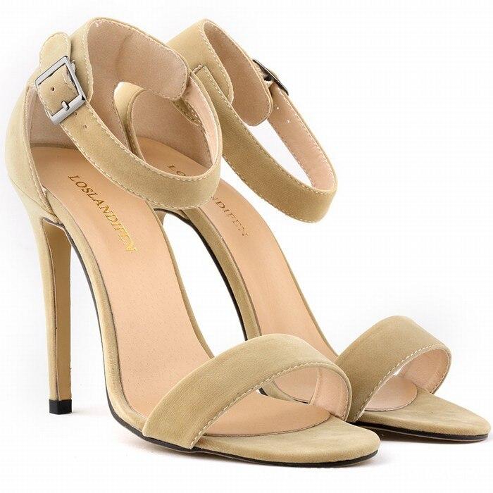 e36ffc52590e23 Lato kobiet t-stopniowy Klasyczny Taniec Szpilki Gladiator Sandały Kobiety  Sexy Szpilki/Party buty ślubne