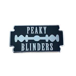 Image 1 - Peaky Blinders Lưỡi Dao Cạo Cứng Men Lapel Pin
