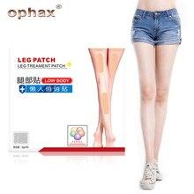 OPHAX 18pcs Body Slim Patch Leg Slim Pad Body font b Weight b font font b