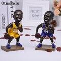 1 шт. искусственная баскетбольная звезда НБА Коби Брайант кукла фигурки миниатюрные автомобильные резиновые украшения для дома подарки на ...