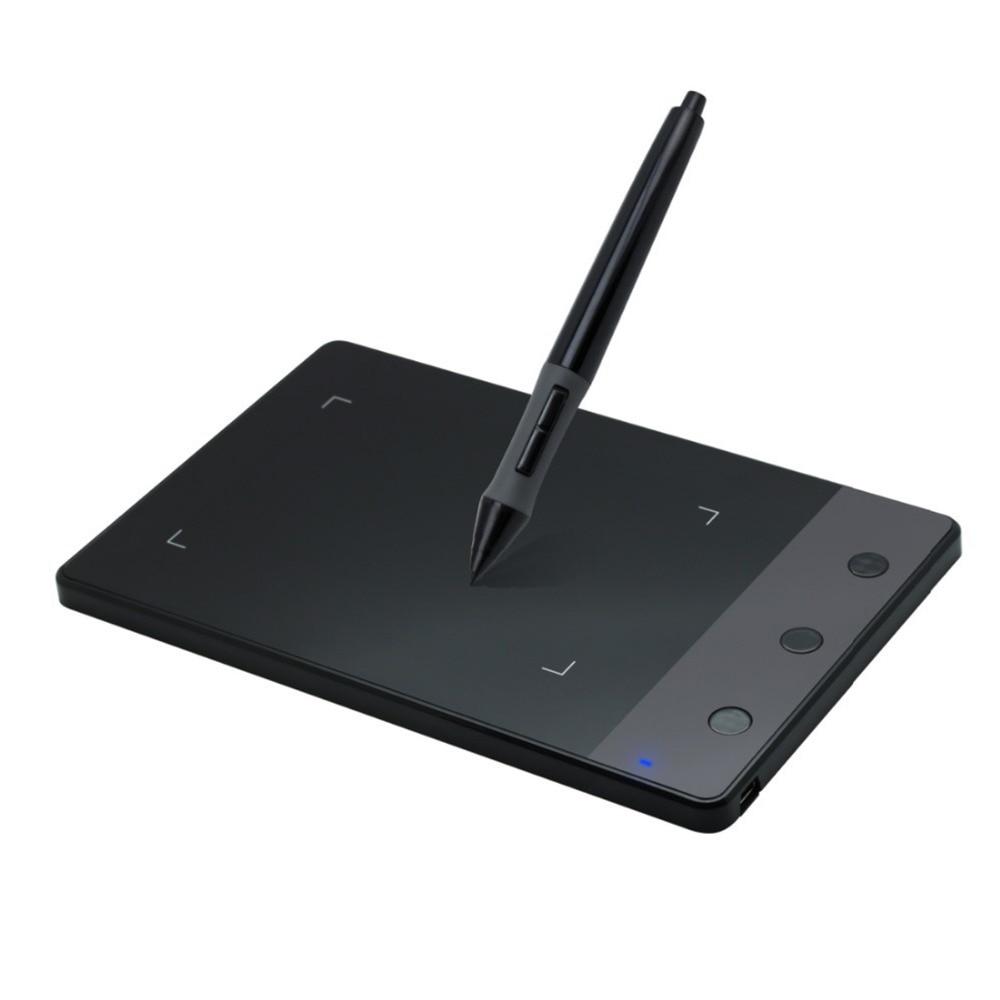 """HUION H420 420 Grafik Çizim Tablet 4×2.23 """"USB Dijital Kalem PC Bilgisayar için Ücretsiz Kargo"""