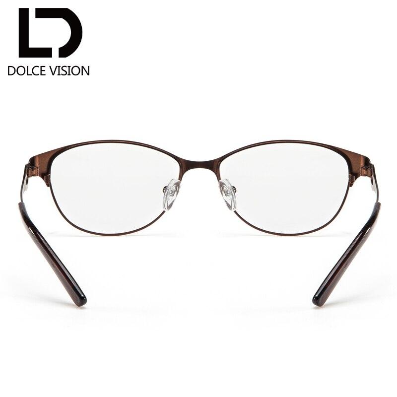 Rahmen Vision Gläser Hohl Vintage Dioptrien Design Frauen C2 Metall Rezept Oval Brille Dolce Objektiv Brillen Zqdw171