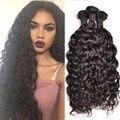 Перуанский Вьющиеся Переплетения Человеческих Волос Связки Перуанский Вьющиеся Волосы Мокрые и Волнистые Человеческих Волос 3 Связки Перуанский Девы Волос Природный волна