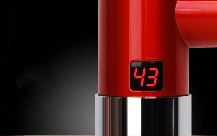 мгновенно электрическая отопление кран электрическая водонагреватель с температуры шоу 3кВт