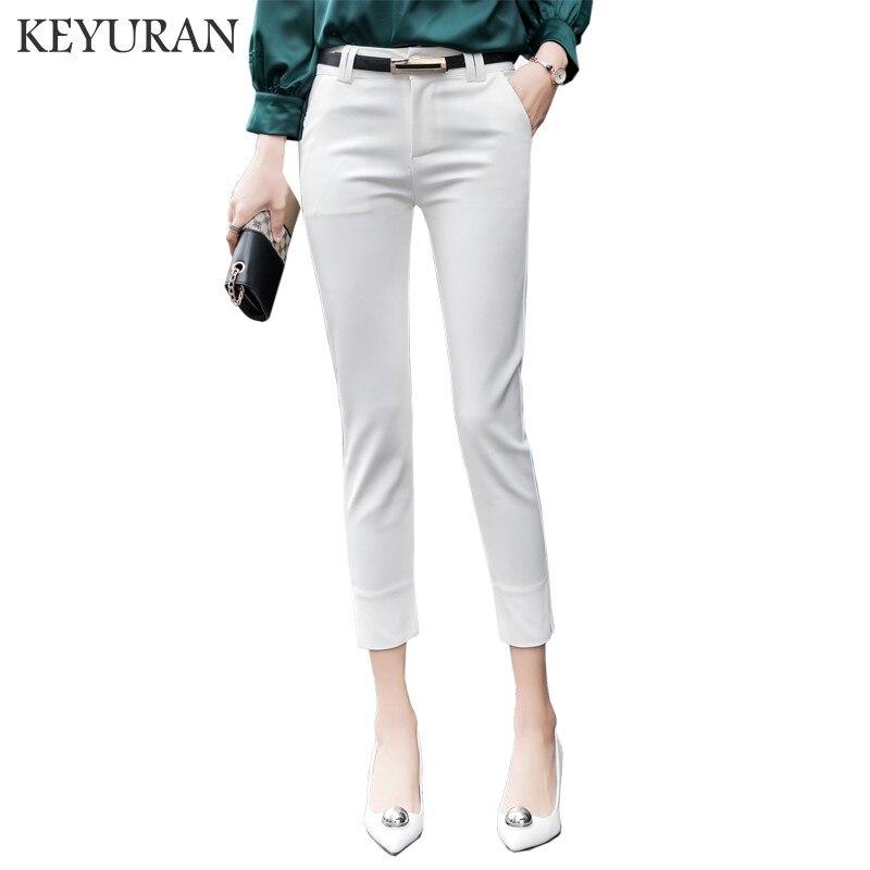 New 2018 Spring Summer Autumn Occident Style Women OL Formal   Pants   Slim Casual   Capris     Pants   Women's Overalls Harem Pencil   Pants