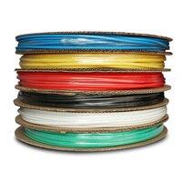 Shthde fil électrique protection pliable tube ménage tube thermorétractable noir diamètre 12mm 100 M/roll