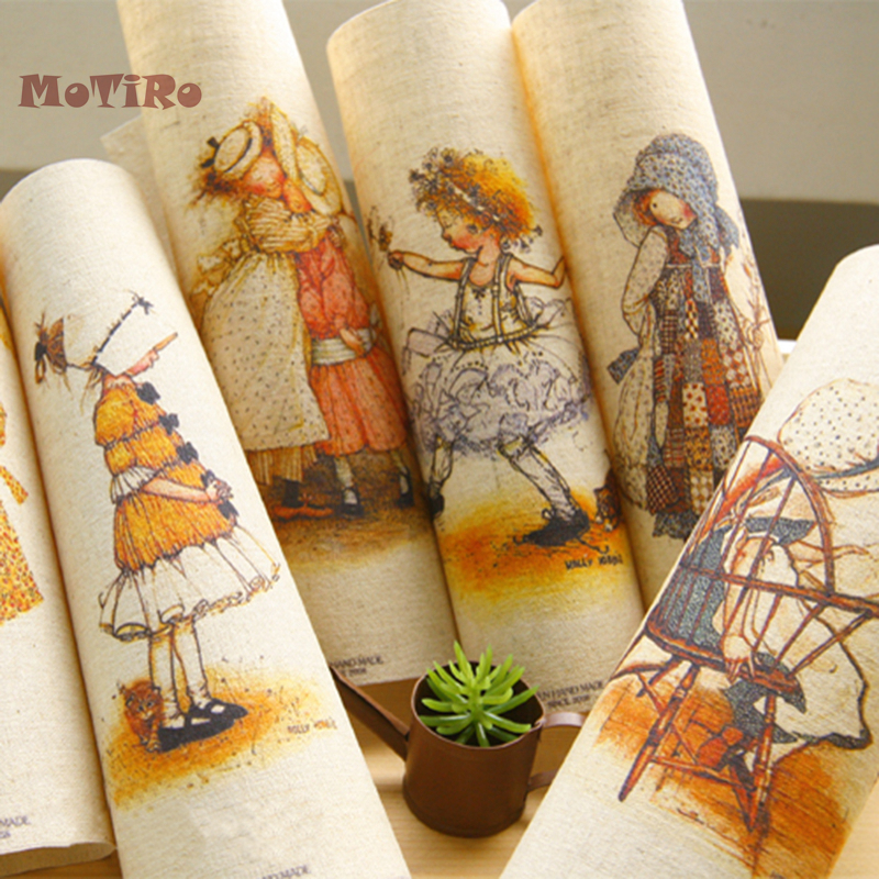 Arts,crafts & Sewing Buy Cheap Motiro,20*20cm,1pcs/lot,plain Cotton Linen Fabric,beauty Pattern Hand Dyed Cloth For Diy Table Mat/mouse Pad/apron Pocket/pillow Apparel Sewing & Fabric