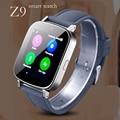 Smart watch Phone Поддержка GPRS доступ В Интернет СИМ-карты TF Карта Камеры Микро-В-одном стерео наушники Smartwatch Часы