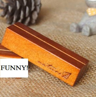 1pcs/Lot New Cute Vintage Style Wood  Memo Clip  Card Holder (M)  Note Pad Seat Message Clip Board Retail