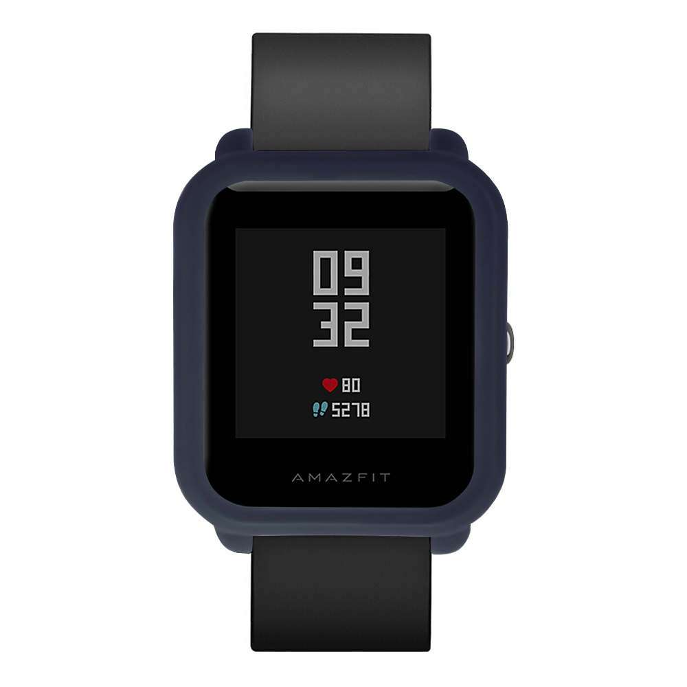 Protect Frame Sotf Silicone Watch Case Cover for Xiaomi Amazfit Bip BIT PACE Lite Youth Watch Shell For Xiaomi Huami Amazfit in Smart Accessories from Consumer Electronics