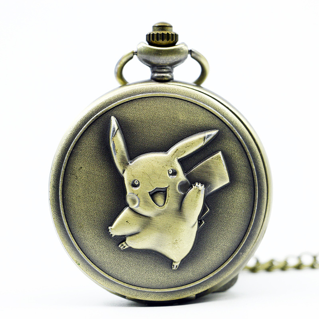 New Arrival Fashion Game Boy Quartz Pocket Watch Analog Pendant Necklace Men Wom
