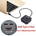 BrankBass Tipo C USB 3.1 HUB Combo SD TF Leitor de Cartão USB OTG 3.1 para Macbook Tablet