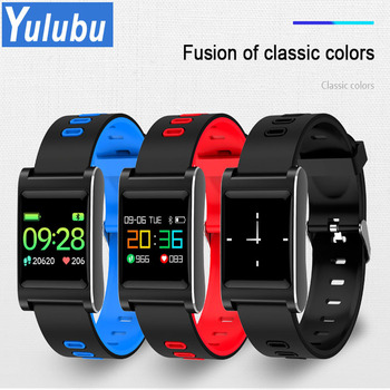 Yulubu 2018 K88 Plus Smart Wristband Blood Pressure Bracelet Color Display IP68 Waterproof Fitness Tracker Band for Android IOS