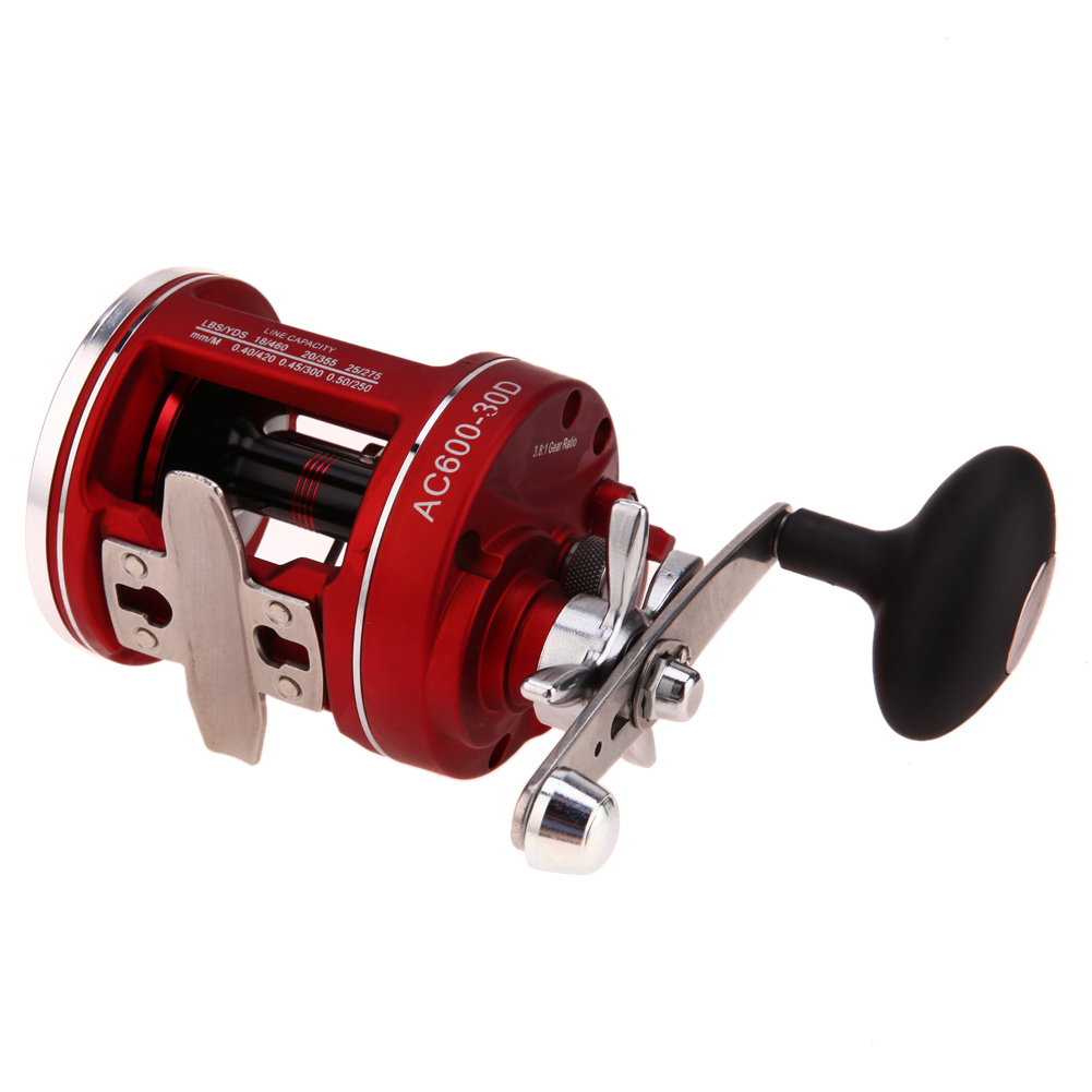 11+1BB Fishing Line Counter Trolling Reels Right Handle ACL Bait Wheel  Bait Casting Fishing Reel 2017 New 12bb bearings baitcasting fishing reel line wheel counter trolling casting drum