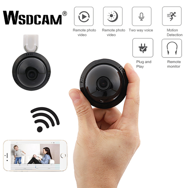 E09 HD Home Security MINI WIFI 1080P IP Camera Wireless Small CCTV Infrared Night Vision Motion Detection SD Card Slot Audio APP