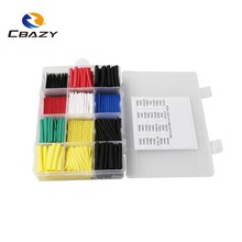 цена на 520pcs 2:1 heat shrink tubing in 6 colors 8 sizes Tubing Wrap Sleeve Set Combo Assorted heat shrink tube Kit for DIY