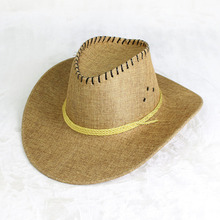 2018 Western Cowboy Hat Hand Made Beach Felt Sunhats Party Cap For Man Woman Unisex Hollow Hats Gift AD0039