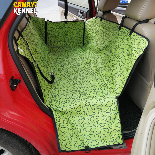 CANDY KENNEL Dog Cat Car Rear Back Seat Carrier Safety Belt Cover Pet Blanket Cover Mat Hammock Protector Drop Shipping U0962