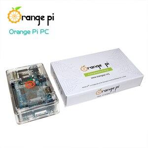 Image 4 - Laranja pi pc + caso abs transparente + fonte de alimentação, suportado android, ubuntu, debian open source placa única