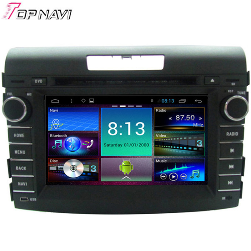 Topnavi Quad Core Android 4 4 Car DVD font b Multimedia b font Player for CRV