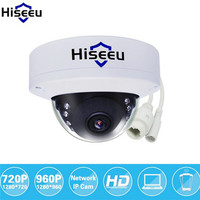 Hiseeu IP Camera Network Security CCTV Camera 720P 960P 1080P HD Mini Dome Camera IR Cut